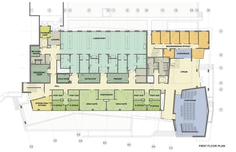 Chemistry Building Of University Of Washinton Floor Plans